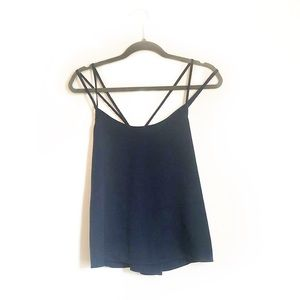 Abercrombie and Fitch Navy Strappy Tank Top